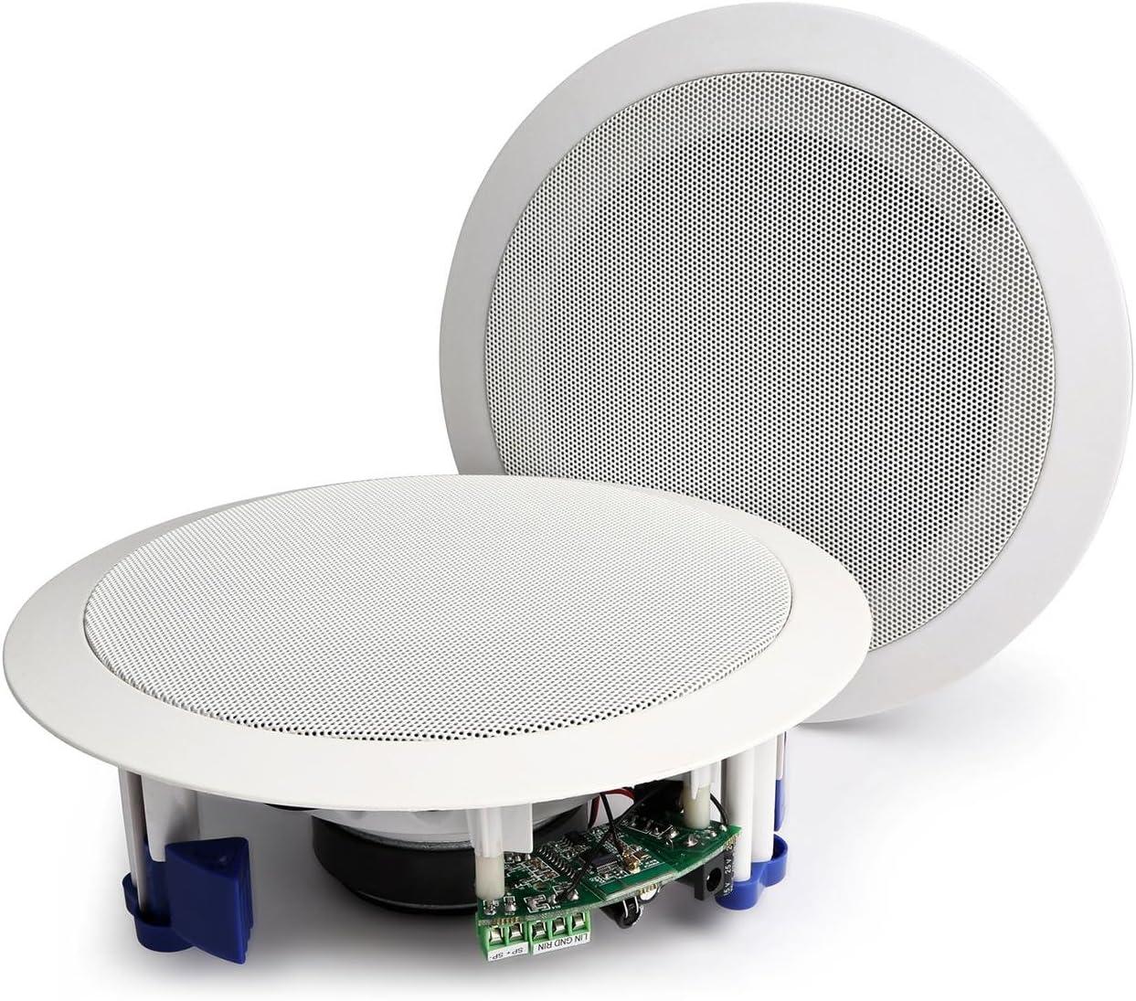 Power Dynamics CSBT65 Conjunto activo de altavoces de techo con BT