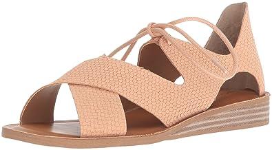 15b0bdf1664a14 Lucky Brand Women s Hafsa Flat Sandal