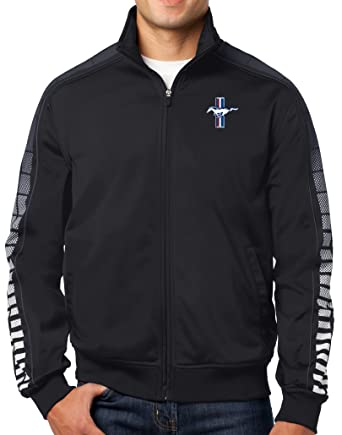 Buy Cool Shirts Mens Ford Mustang Gt Track Jacket At Amazon Mens Clothing Store