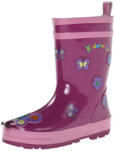 Amazon.com: Kidorable Butterfly Rain Boot (Toddler/Little Kid): Shoes