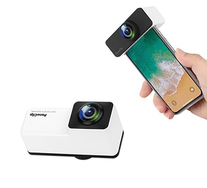 official photos 49372 0b590 XINLON Panoramic Lens,360 Camera,Double 180 Degree Fish-Eye Lens,Clip on 2  in 1 Cell Phone Lens for (iPhone X, 5.8 in)