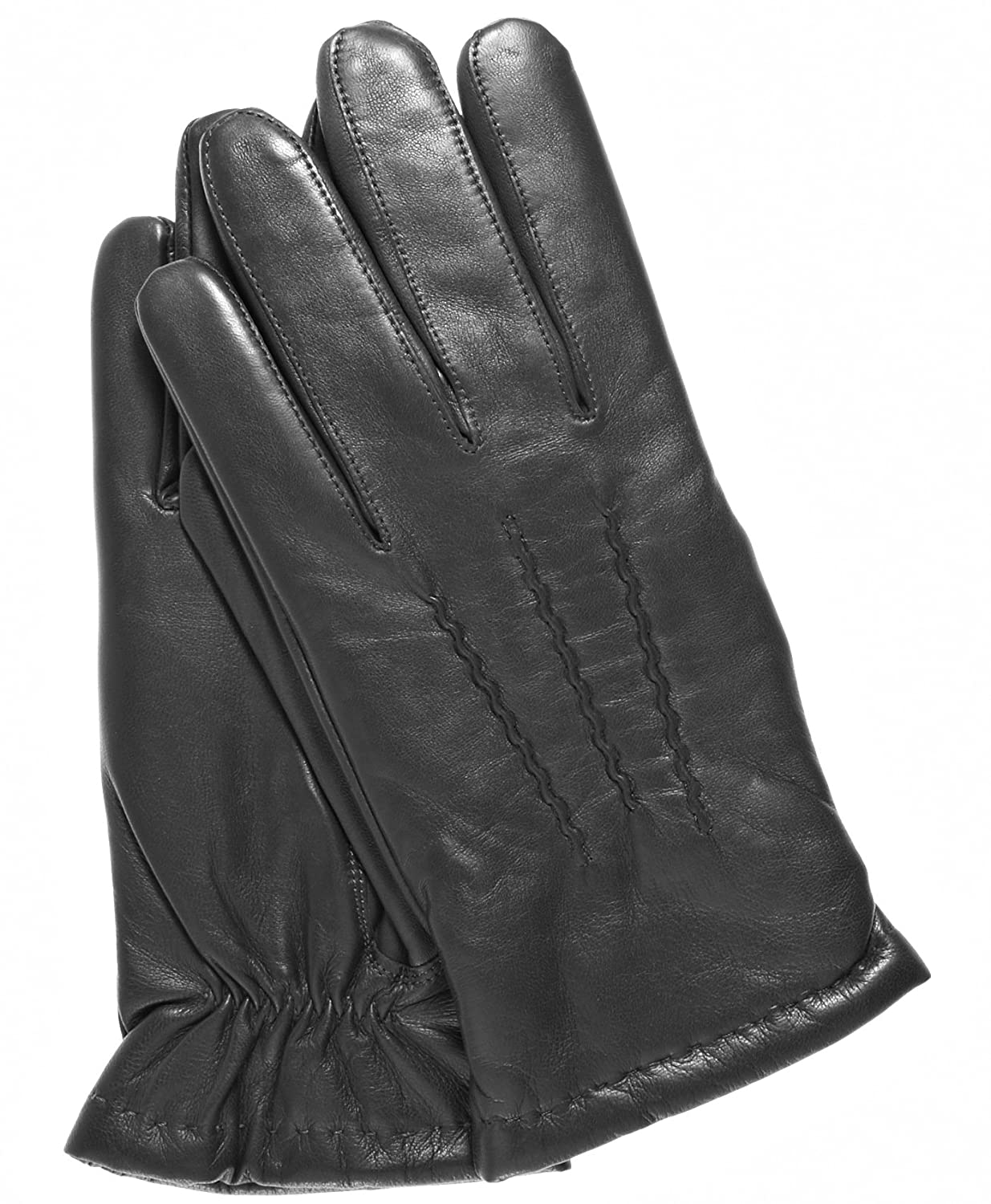 bdc82b623fd66 Fratelli Orsini Everyday Men's Italian Lambskin Cashmere Lined Winter Leather  Gloves at Amazon Men's Clothing store: Cold Weather Gloves