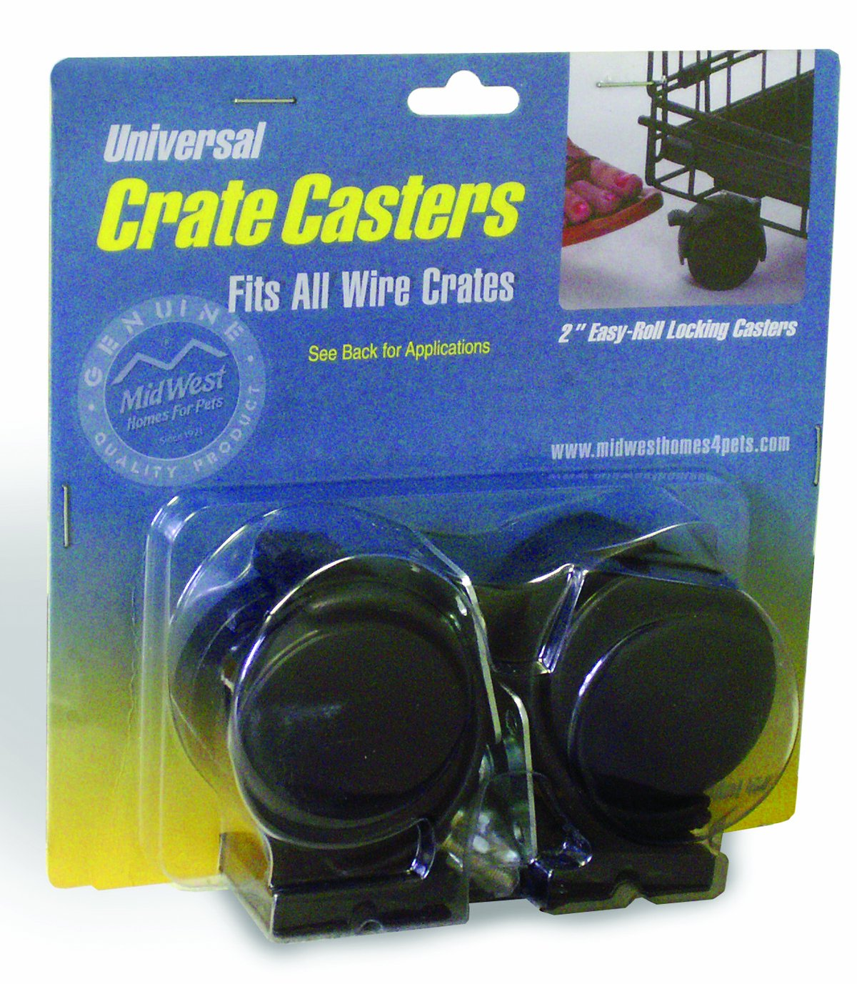 B000MCXXT6 MidWest Universal Crate Casters (2 Pack) 81LWF2mNxDL