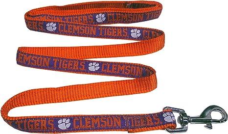 NCAA Clemson Tigers Premium Medium Dog Collar