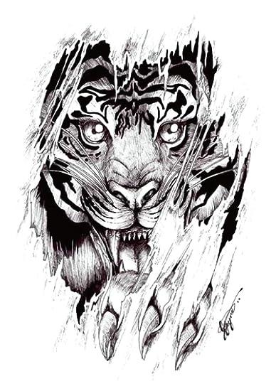 d12fa7650de0e Amazon.com: black tiger large 8.25