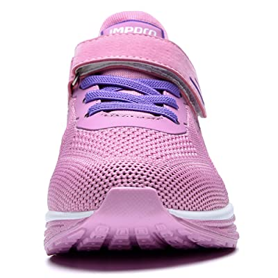 RomenSi Kids Sneakers Lightweight Breathable Air Athletic Running Tennis Shoes for Boys Girls
