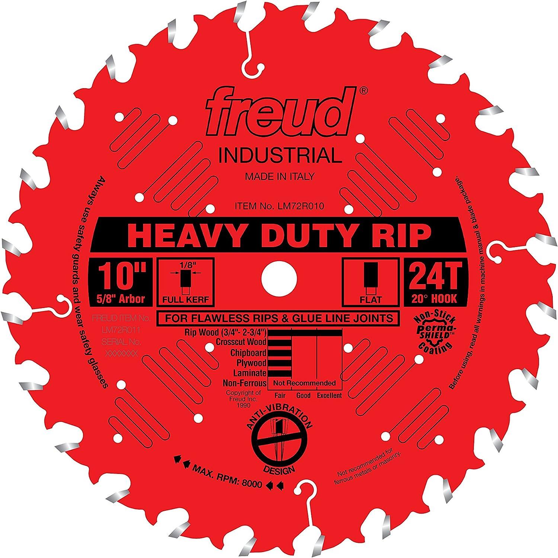 """B0000225UD Freud 10"""" x 24T Heavy-Duty Rip Blade (LM72R010) 81LWHdFiC4L"""