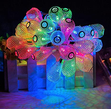 Decorative Lights For Diwali At Home | Buy Techno E Tail Raindrop String Led Decorative Lights For Diwali