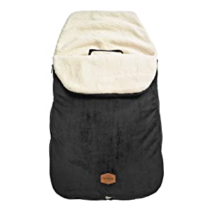 JJ Cole Original Bundleme Canopy Style Bunting Bag, Black