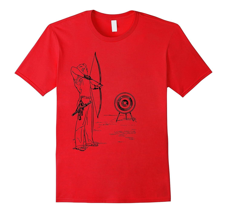Archery Bow And Arrow T-shirt Men Women Boys Girls Child-TH