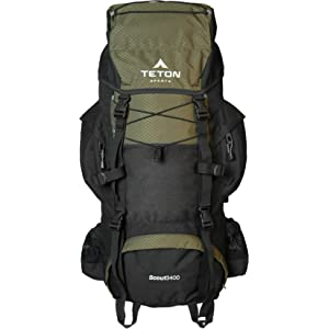 TETON 3400 Sports Scout Internal Frame Backpack
