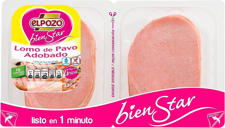 El Pozo Lomo de Pavo Adobado Bienstar - 330 gr: Amazon.es ...