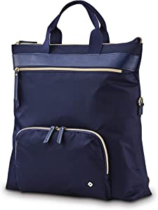 Samsonite Women's Mobile Solution Business Travel (Navy Blue, Convertible Backpack)