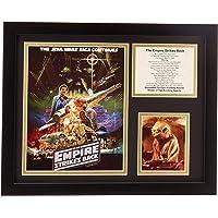"Legends Never Die ""Star Wars El Imperio Contraataca Foto enmarcada Collage, 27,94 cm x 35,56 cm"