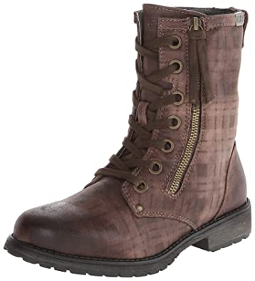 Amazon.com | Roxy Women's Providence Combat Boot, Brown, 6 M US ...