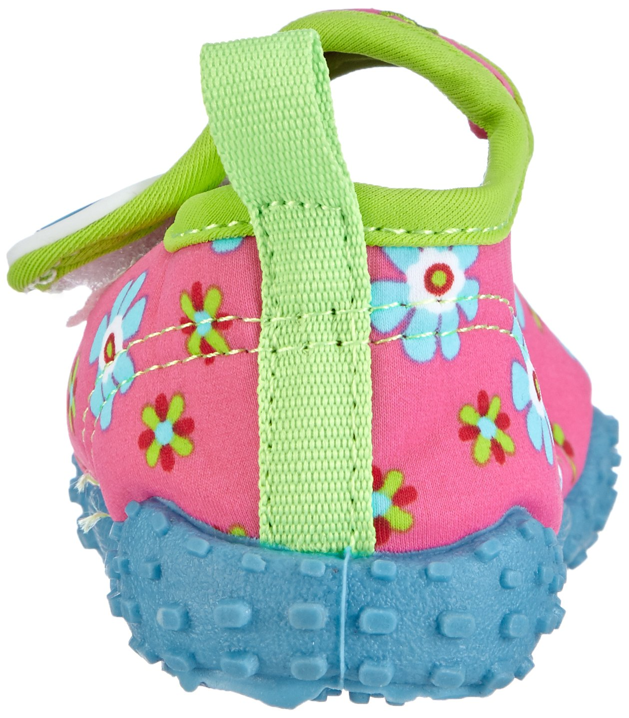 Playshoes Girl's UV Protection Flower Collection Aqua Swimming/Beach Shoes (4.5 M US Toddler) by Playshoes (Image #2)