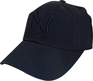 American Needle MLB New York Yankees Curved Brim Tonal Ballpark Strapback Cap