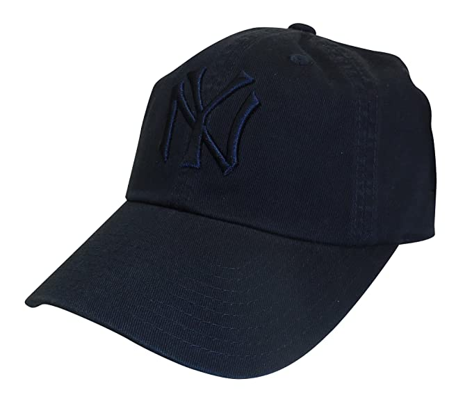 a67aa90640a American Needle MLB New York Yankees Curved Brim Tonal Ballpark Strapback  Cap