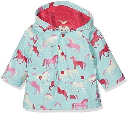 1cb32177fb8f Hatley Baby Girls  Mini Printed Raincoats  Amazon.co.uk  Clothing