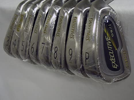 Amazon.com: Spalding Executive os-i Irons Set 3-PW (Grafito ...