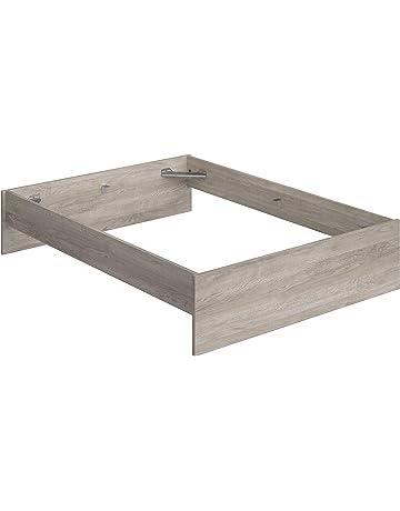 Movian Kolva Modern - Base para cama de matrimonio con cabecero bajo y pie de cama