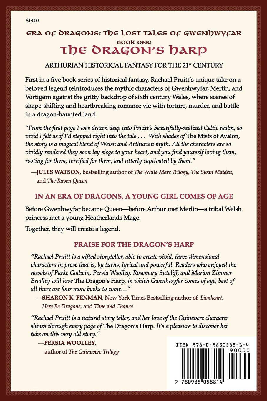 The Dragon's Harp: Era of Dragons: The Lost Tales of Gwenhwyfar (Volume 1)