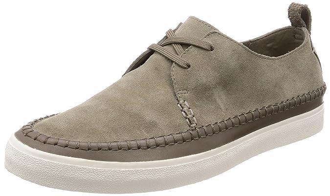 Clarks Kessell Craft, Zapatos de Cordones Derby para Hombre, Azul (Blue Suede), 42 EU