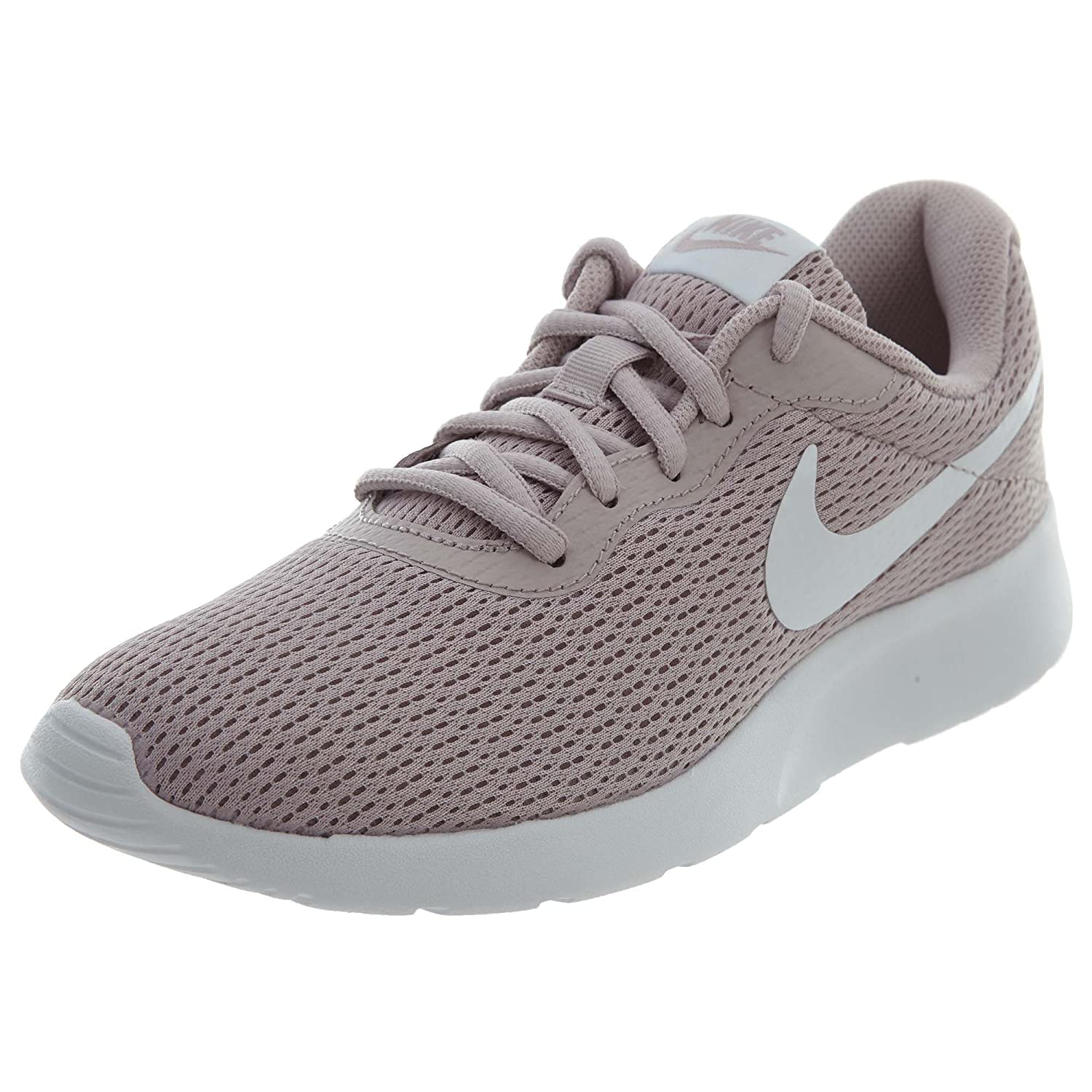 NIKE Women's Tanjun Running Shoes B071HG4G7L 10 B(M) US|Particle Rose / White