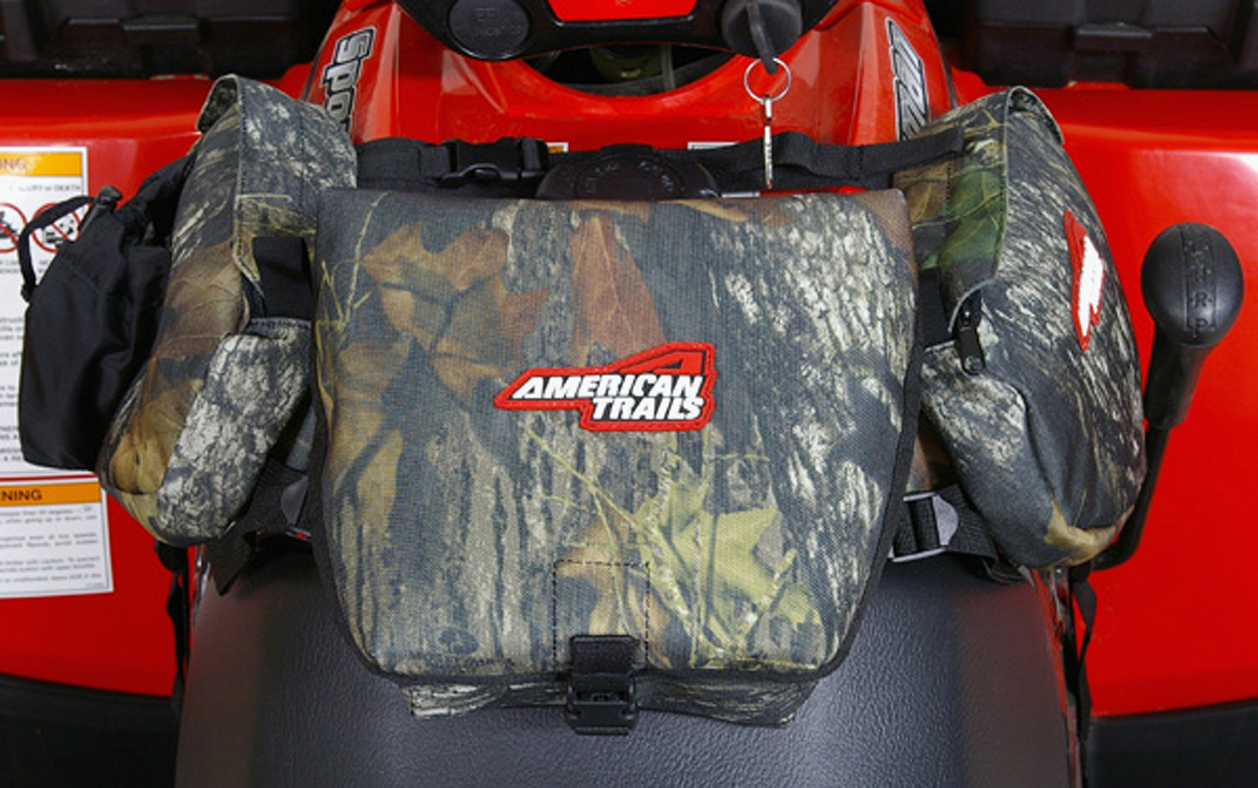 American Trails - ATV Saddle Bag Mossy Oak - Tank Bag Front Accessories Storage Pack Luggage