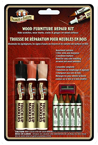 Parker Bailery Wood Furniture Repair Kit Filler Sticks And