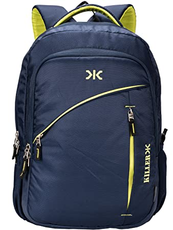 Killer Louis 38L Large Navy Blue Polyester Laptop Backpack with 3  Compartments 22ff41533758d