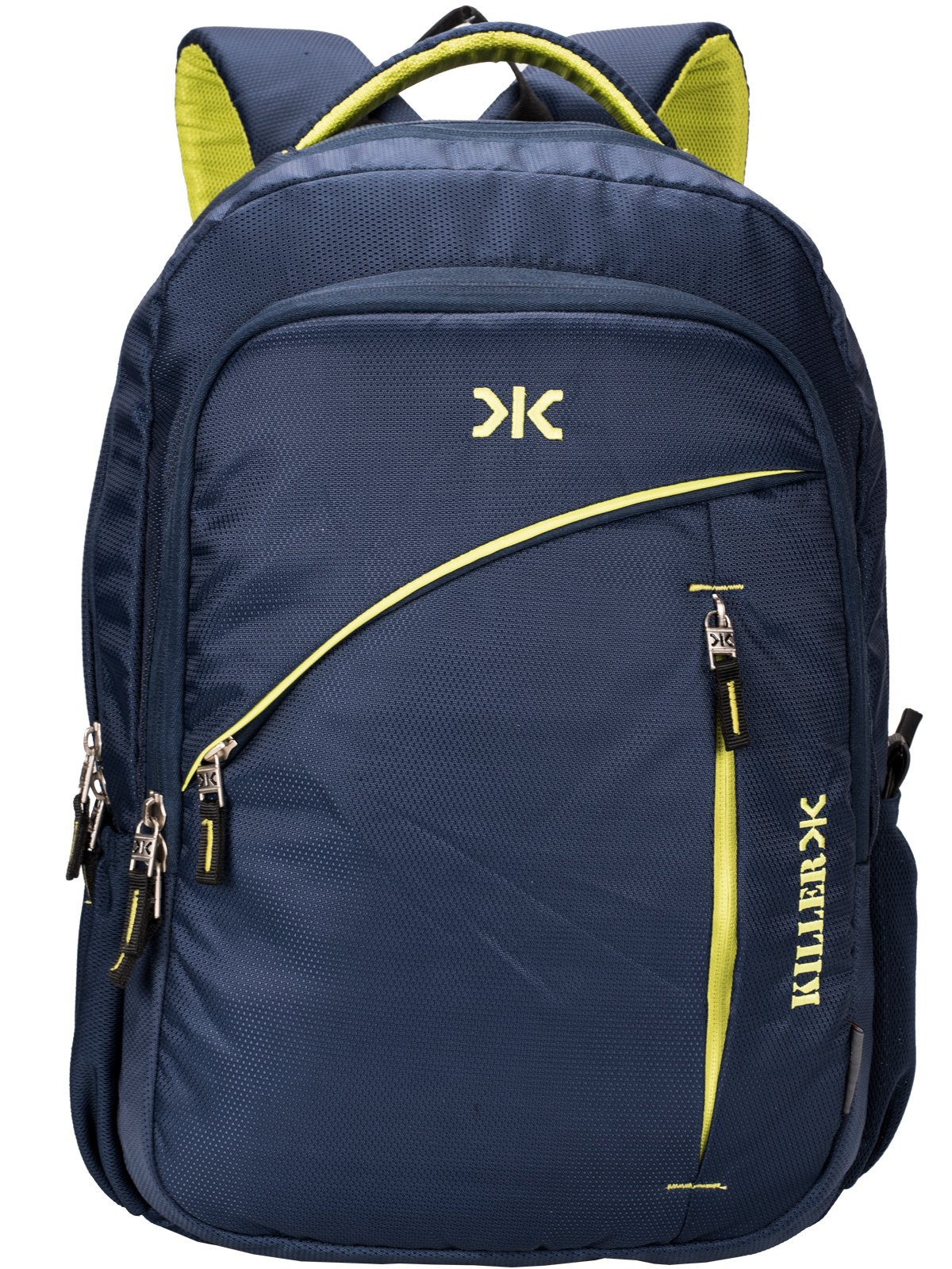 Killer Louis 38L Large Navy Blue Polyester Laptop Backpack with 3 Compartments product image