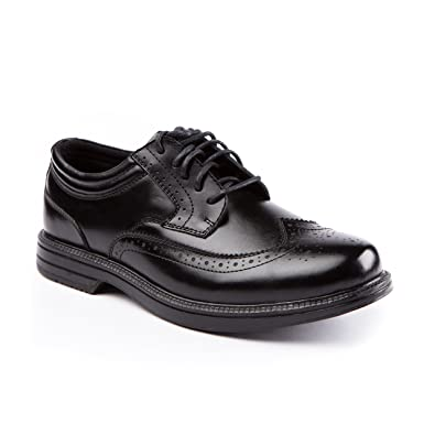 Deer Stags Men's Nu Journal Wingtip Waterproof Oxford 8 M Black