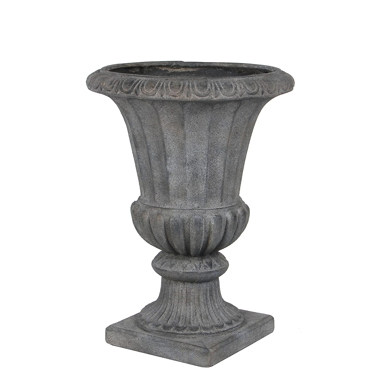 Mica decorations 153751 Vase, Sophia, grau