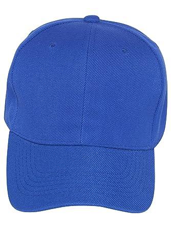 Amazon.com  Magic Plain Fitted Hat -Royal Blue  Clothing abcbeeb7fc81