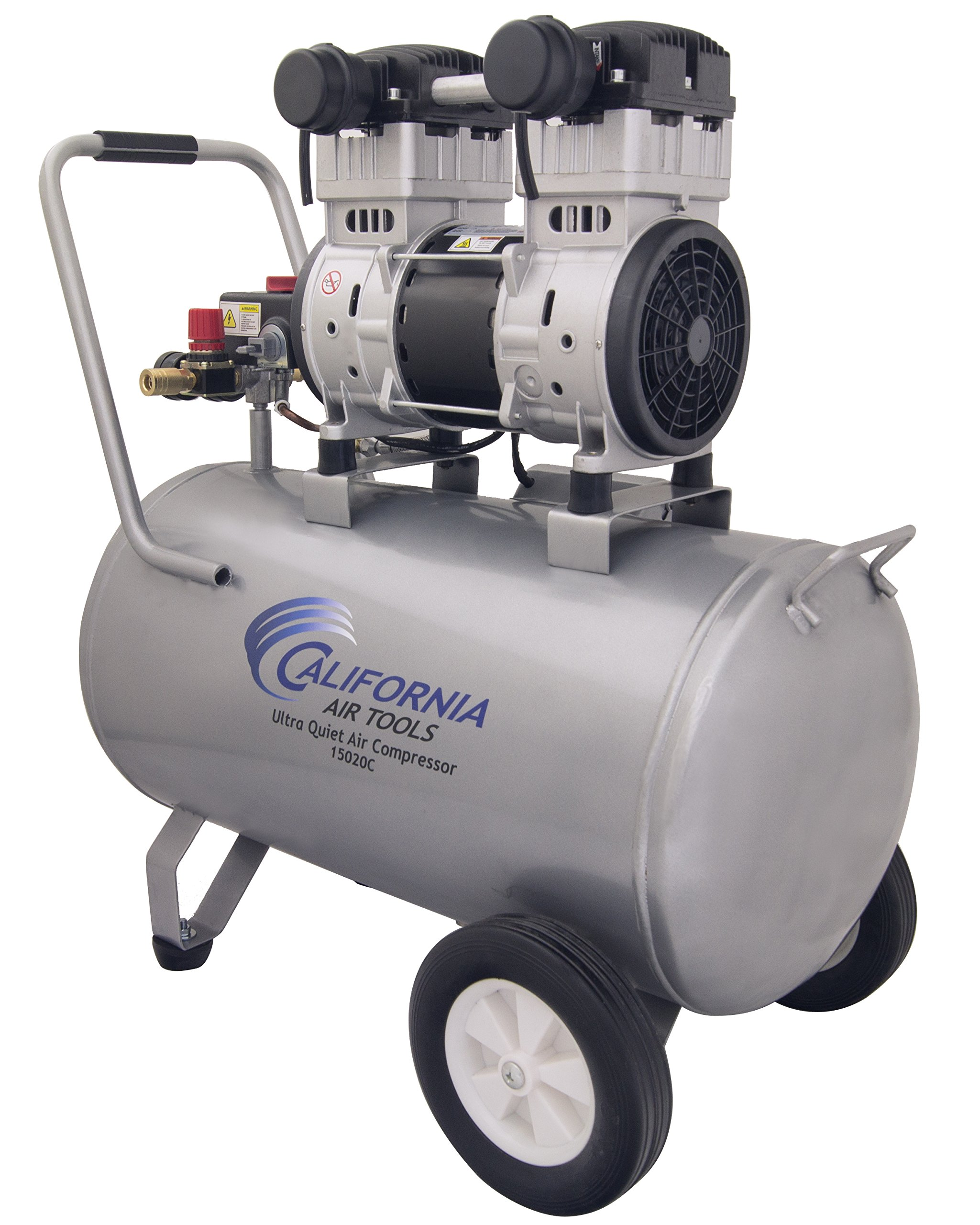 California Air Tools 15020C Ultra Quiet and Oil-Free 2.0 HP 15.0-Gallon Steel Tank Air Compressor by California Air Tools (Image #6)