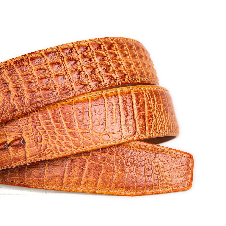 Ceinture D alligator Pour Homme Pour Jeans Et Vêtements Décontractés  (Jaune)  Amazon.fr  Vêtements et accessoires 2a009d808e9