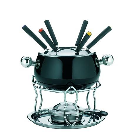 kela 66386 Siena - Juego de fondue (11 piezas, incluye hornillo)
