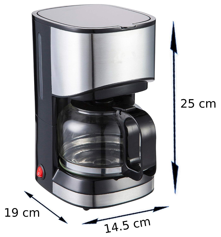 Acero inoxidable Cafetera Eléctrica de diseño, cafetera de filtro ...