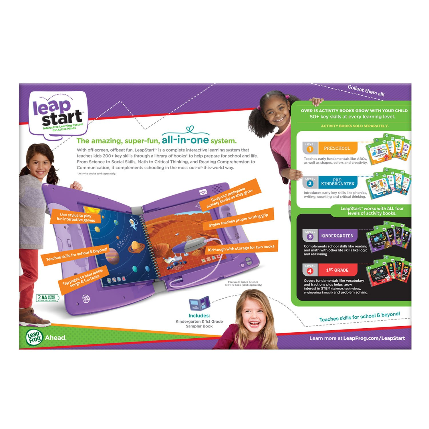 LeapFrog LeapStart Interactive Learning System Kindergarten and 1st Grade Amazon Exclusive by LeapFrog (Image #7)