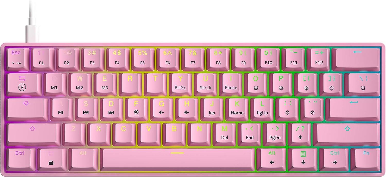 HK Gaming GK61 Prism Pink