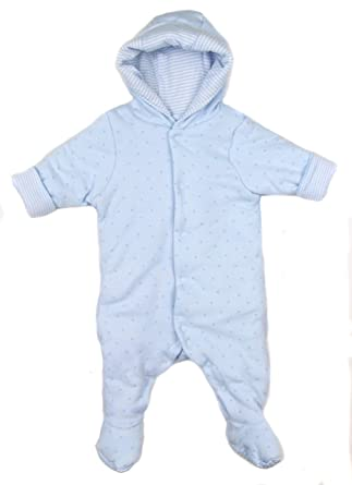 394d0f1ba846 Baby Boys Padded Pram Suit Ex Mother and Baby Store Newborn up to 9 ...