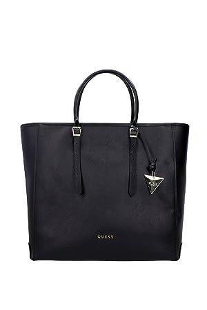 Guess Handtasche Bag Schwarz Leder Damen Tasche
