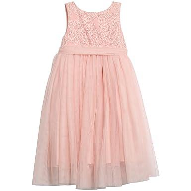 411799cda528 Wheat Disney Pink Princess Tulle Cinderella Dress. Beautiful Sleeveless  dress with a seam over waist