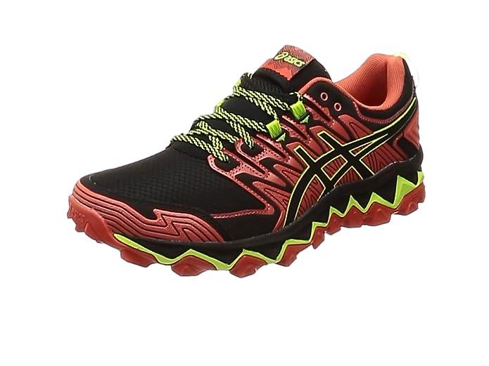 Asics Gel-Fujitrabuco 7 1011a197-600, Zapatillas de Running para Hombre, Rojo (Red 1011a197/600), 49 EU: Amazon.es: Zapatos y complementos