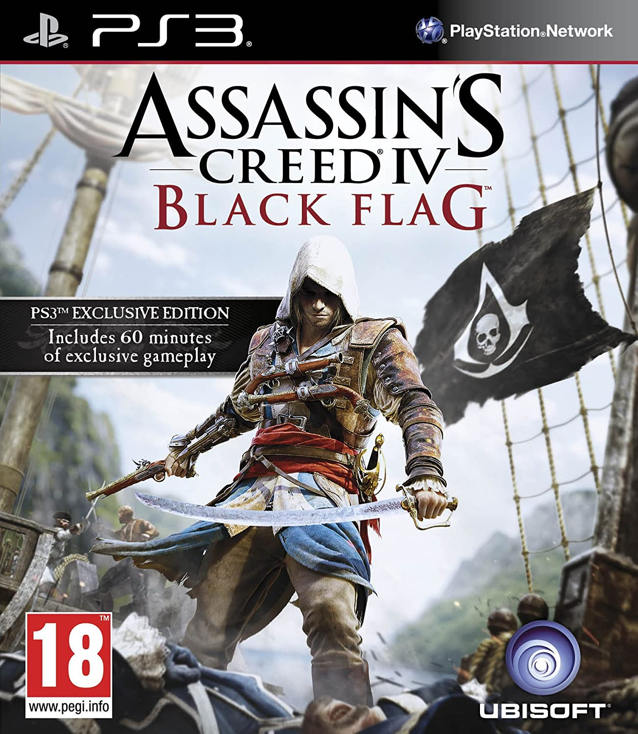 Assassins creed iv black flag ps3 amazon pc video games voltagebd Image collections