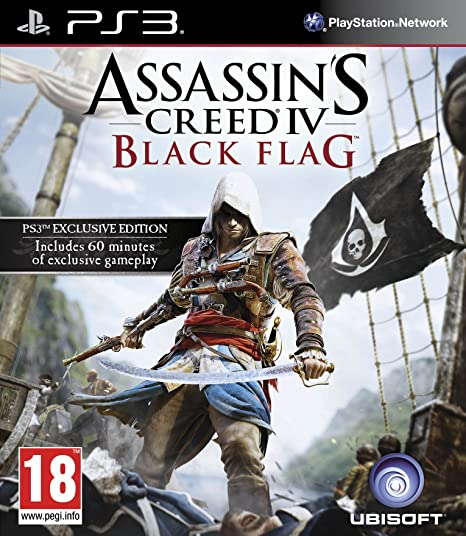 Amazon Com Assassin S Creed Iv Black Flag Ps3 Video Games