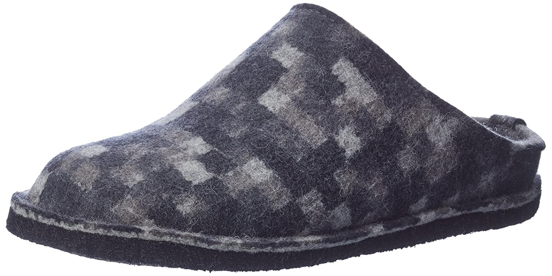 Haflinger Flair Pp23, Pantofole Unisex – Adulto Grigio (Anthrazit 4) | bello  | Maschio/Ragazze Scarpa