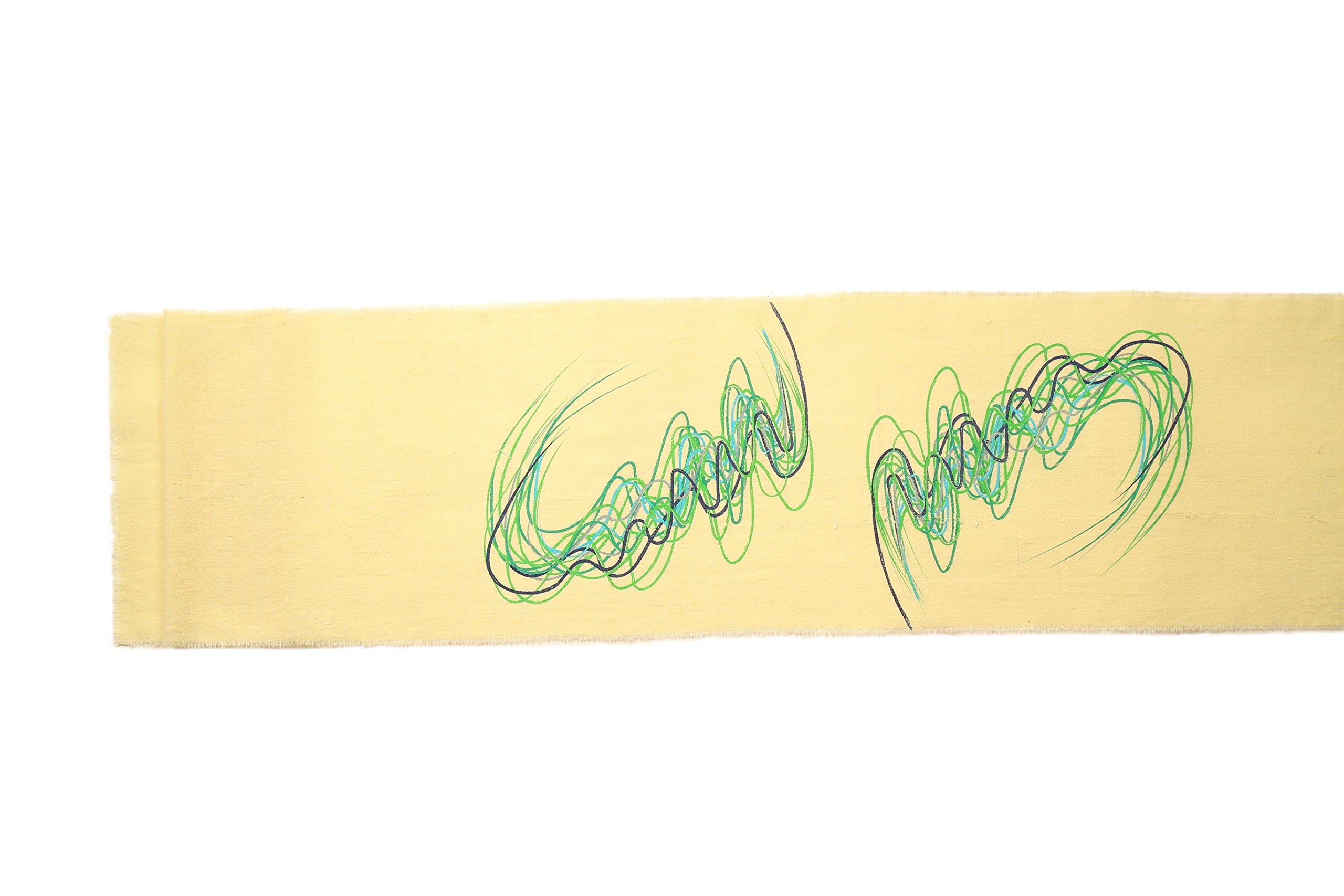 Gitika Goyal Home Crayons on a Table Runner, 104''