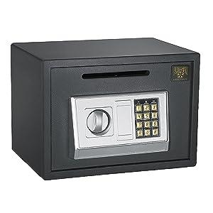 7875 Paragon Lock & Safe Digital Depository Safe .67 CF Cash Drop Safes Heavy Duty